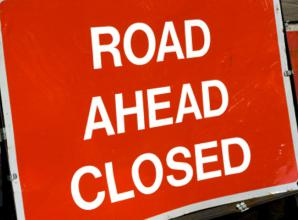 Road in Hurst closed due to flooding