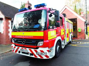 Firefighters tackle bedroom fire in Slough