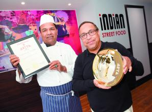 Peppermills Indian Takeaway in Ascot wins National Takeaway of the Year