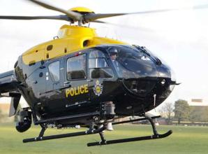 Police helicopters assist in three Maidenhead incidents