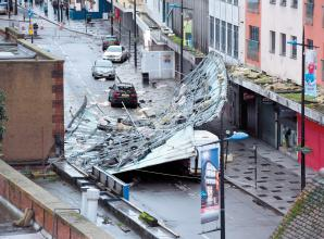 'Miracle' nobody seriously injured from roof collapse in Slough High Street