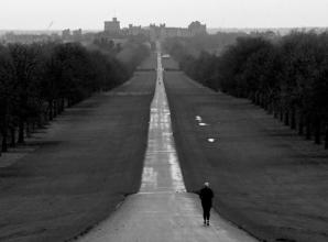 The Big Picture: A jogger on the Long Walk by Ian Longthorne