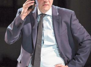 REVIEW: The Last Temptation of Boris Johnson at Theatre Royal Windsor
