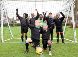 Langley Hall win football tournament at Churchmead
