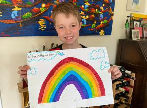 Children unite to 'Chase the Rainbow'