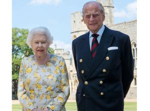 New photograph of Prince Philip and the Queen to mark 99th birthday