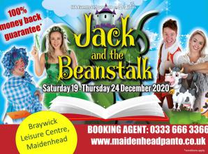SPONSORED: Fee Fi Fo Fum....Maidenhead Pantomime is on!