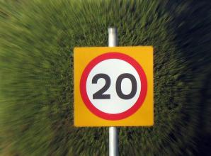 Work starts to implement 20mph speed limit in Foxborough roads