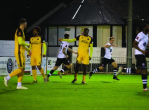 Rees' hat-trick condemns Magpies to home defeat against Aldershot Town
