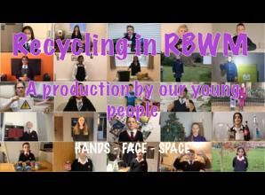 Royal Borough kids create recycling video
