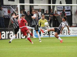 Football round-up: Maidenhead United stung by Bees but Slough Town extend unbeaten run with victory over Hampton