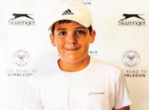 Ascot tennis junior Dickason's All England Club outing fuels desire to continue on Road to Wimbledon