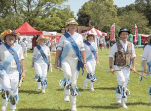 Librarian takes up morris dancing after attending sessions in Hurst