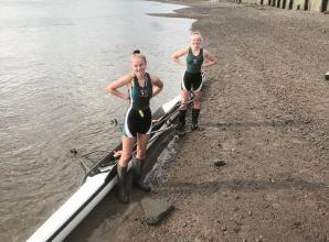Carpenter and Hall impress for Maidenhead Rowing Club at Pairs Head race in London
