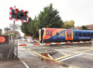 Concerns raised by councillor after new pothole forms near Datchet Level Crossing