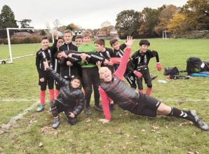 Hall of Fame: Diamonds u13s claimwell deserved victory over Camberley as the goals fly in for Maidenhead United Juniors