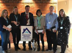Commitment of Alexander Devine Children's Hospice Service staff recognised
