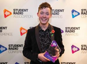 Former Claires Court and Furze Platt pupil wins top student radio award
