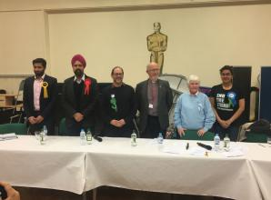 General election candidates quizzed by public at Langley hustings
