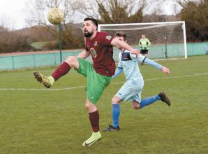 Holyport's unbeaten run grinds to a halt with 2-1 defeat to Chalvey Sports