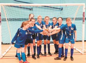 Maidenhead Girls u14s banish demons to lift Berkshire County Futsal trophy