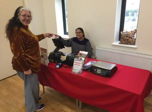 Pop-up post office opens at St Mary's Church in Datchet
