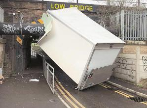 Councillor calls for suggestions to stop lorries getting stuck under railway bridge