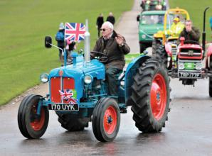 Troop of 123 tractors drive first ever REBAA Tractor Run