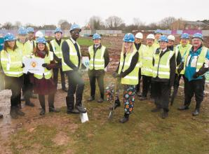 VIDEO: Groundbreaking ceremony held to mark start of Burnham Grammar School rebuild
