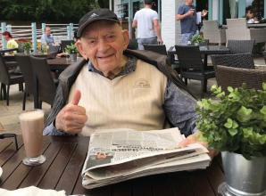 Well wishes via Facebook to celebrate 100th birthday