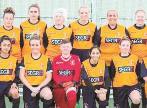 Slough Town Ladies take on collective challenge to raise money for NHS key workers