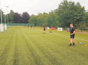 Strict protocols enable Maidenhead RFC to resume training in small groups