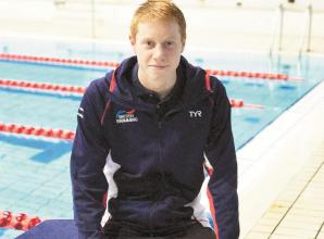 GB swimmer Dean 'feels like he's learning how to swim again' after 10 weeks out of the water during lockdown