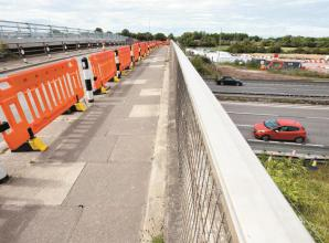 M4 junctions 6, 8/9 and 10 closed this weekend