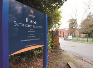 Government decides 'in principle' to transfer Khalsa Secondary Academy to new educational trust