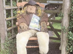 Fifield residents get creative with zany scarecrows