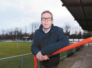 Maidenhead United working hard to be 'COVID-secure', says club chairman Peter Griffin