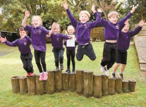 Burchetts Green Infant School wins green award from Woodland Trust