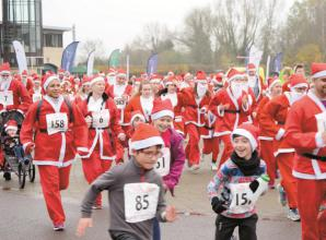 Santa Fun Run to launch with a livestream from Santa's Grotto this year