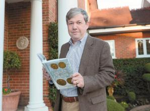 Vice Lord Lieutenant publishes book on Roman 'pirate' emperor