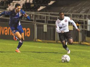 Addai shoots down Spitfires as Maidenhead United get back to winning ways