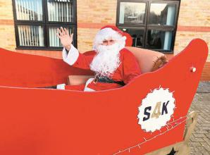 Santa to visit Maidenhead, Windsor and Slough this month