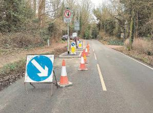 Cookham Dean traffic calming measures paused to correct error