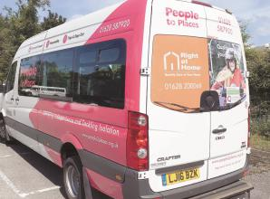 New sponsored bus for accessibility charity
