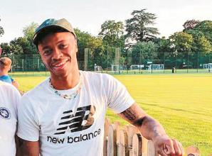 Marlow players have an extra spring in their step as Sterling watches on