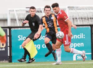 Slough Town's pre-season progress disrupted by COVID and injury to Harris
