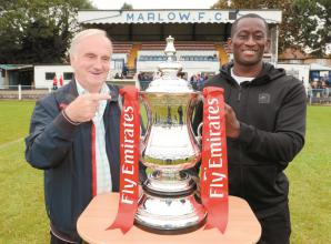 Marlow survive tricky FA Cup tie thanks to Bell's moment of quality
