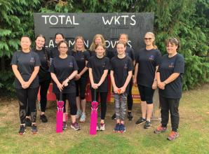 Women of Marlow CC play first competitive game
