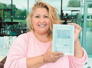 Maidenhead cancer charity CEO receives 'Woman of the Year' award